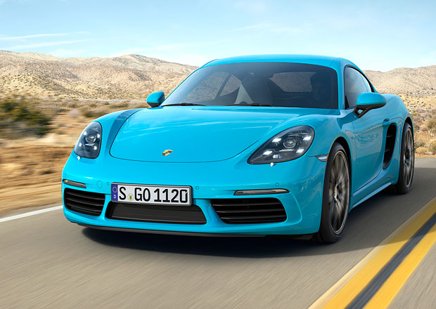 Porsche 718 Cayman: Přeplňované čtyřválce také pro kupé