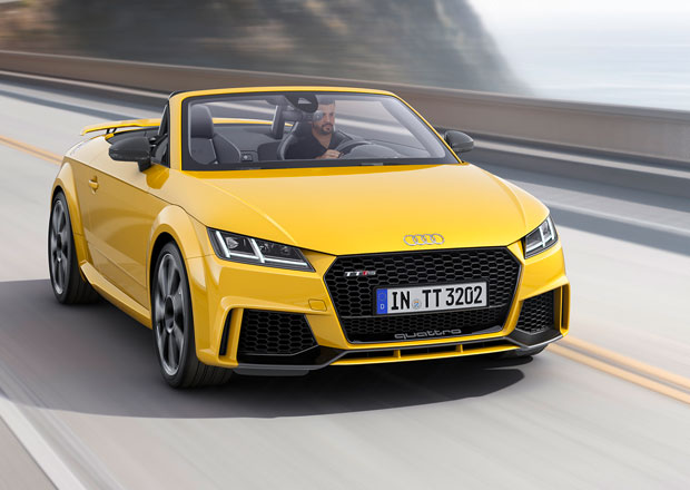 Audi TT RS: Nejostřejší TT má pětiválec s 400 koňmi