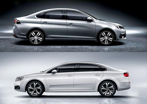 PSA expanduje v ��n�: Tak� by se v�m l�bil nov� Citro�n C6 nebo Peugeot 308 sedan?