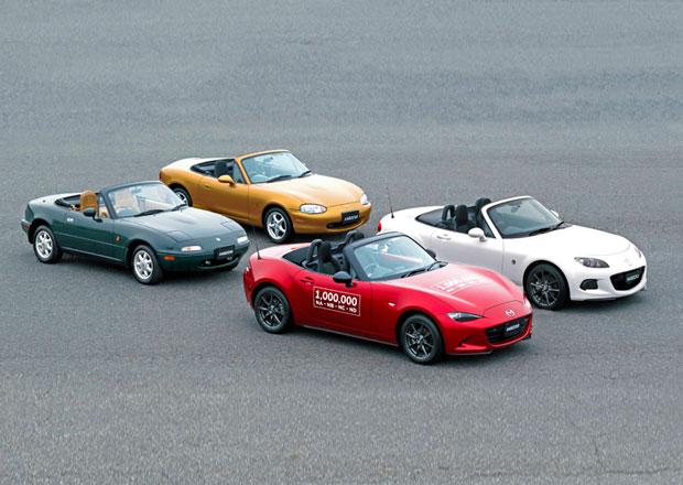 Mazda MX-5: Miat už je celý milion