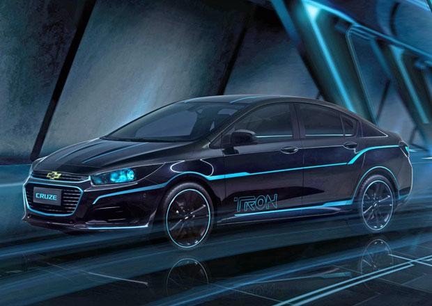 Chevrolet Cruze: Inspirace digitálním světem filmu TRON: Legacy