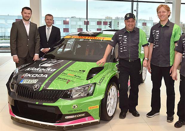Rallye �umava Klatovy 2016: �tajf poprv� na startu s Fabi� R5 (+video)