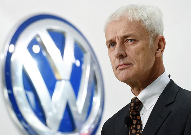 Volkswagen čeká letos navzdory krizi solidní růst, řekl šéf koncernu Müller