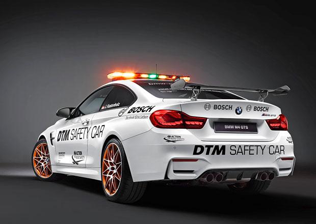 BMW M4 GTS: DTM má nový safety car
