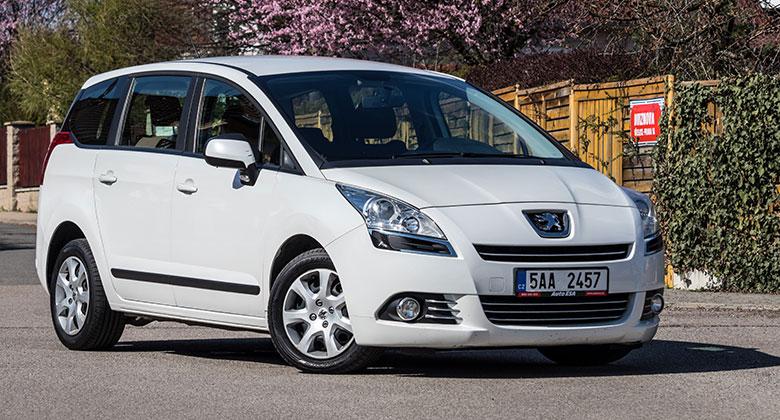 Ojet� Peugeot 5008 (2009 a� sou�asnost):  M�ete si ho koupit nov�