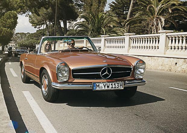 Mercedes-Benz nabízí dovolenou s klasickými SL (+video)