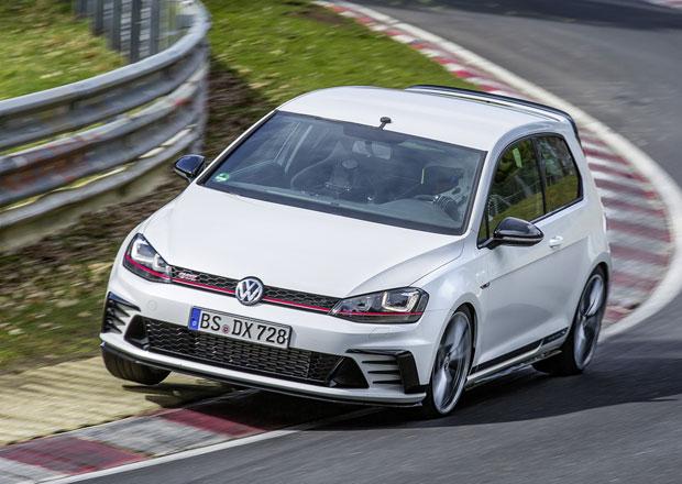 VW Golf GTI Clubsport S je nejrychlejší předokolka na Nordschleife