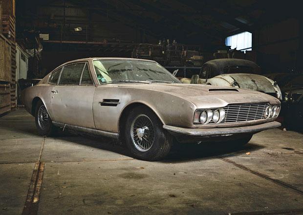 Autentický Aston Martin DBS míří do aukce
