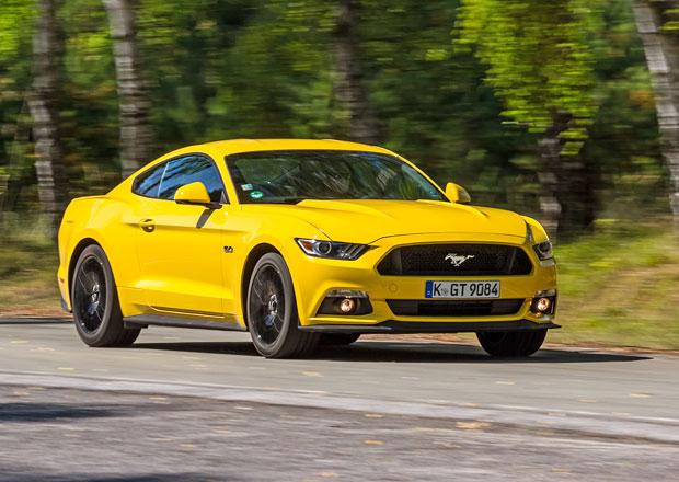 �esk� trh v dubnu 2016: Mezi modely vede Mustang nebo A6