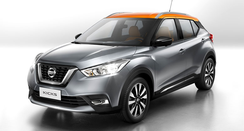 Nissan Kicks je nov� glob�ln� crossover. Pod�vat by se mohl tak� k n�m (+video)