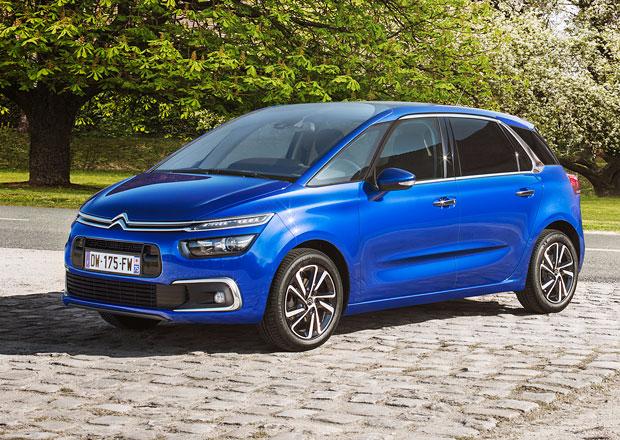 Citroëny C4 Picasso a Grand C4 Picasso mají české ceny. S tříválcem nepočítejte