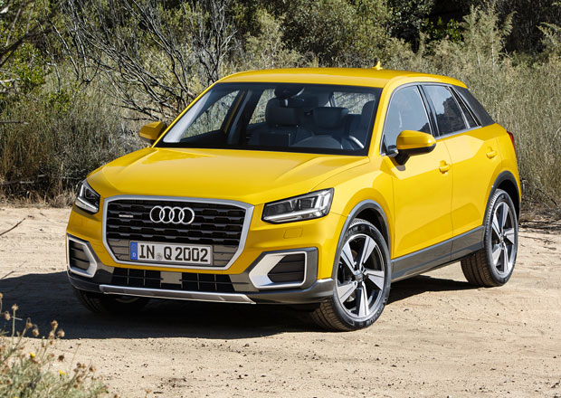 Audi Q2 odhaluje technická data, základem je tříválec