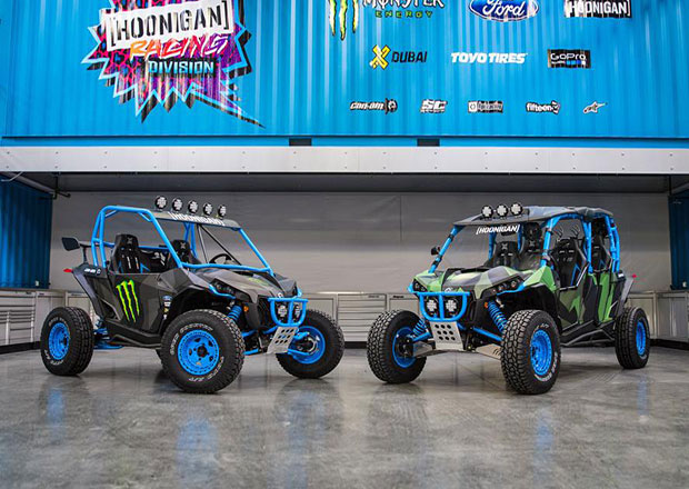 Can-Am Maverick X RS Turbo a Max X RX Turbo podle Kena Blocka