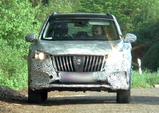 Spy video: Nové SUV Borgwardu pro Čínu se testuje i v Evropě