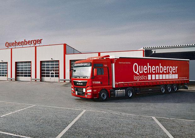 MAN TGX: 500 vozidel pro Quehenberger Logistics