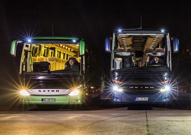 LED světlomety pro autobusy Mercedes-Benz a Setra