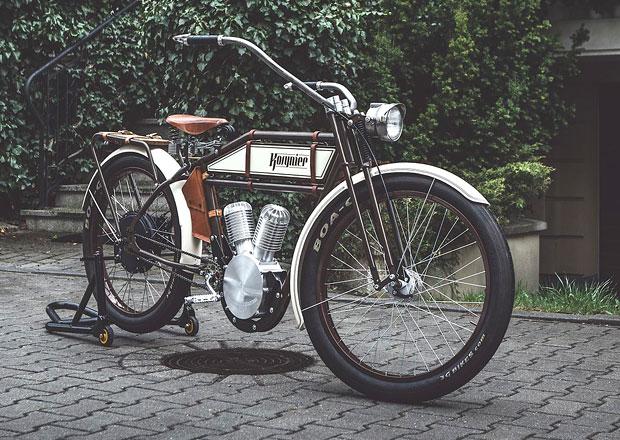 Kosynier je e-Bike s vizáží motocyklového dědečka (+video)
