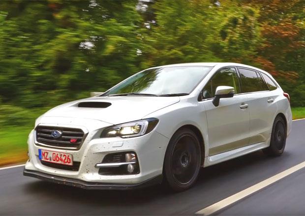 Subaru láká na příchod ostrého kombi Levorg STI