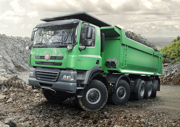 Tatra a Cat spole�n� v nov� Off Road Show