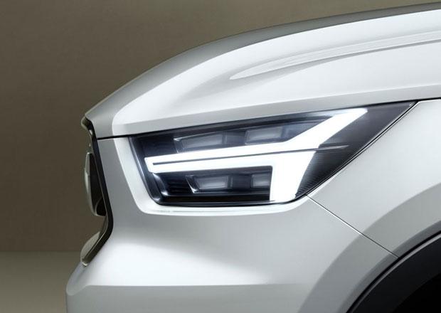 Volvo V40 a XC40: Prvn� teaser ukazuje sv�tlomet