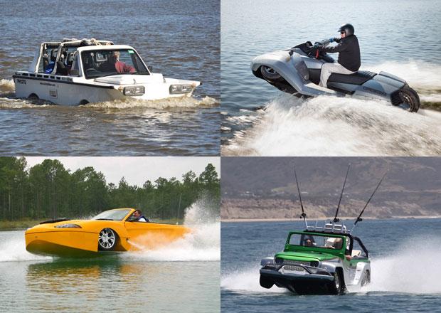 Na silnici i do vody: Supergalerie obojživelníků (1. díl)