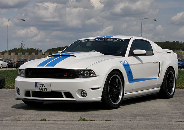 Fotoreportáž: Ford Mustang Sprinty 2016