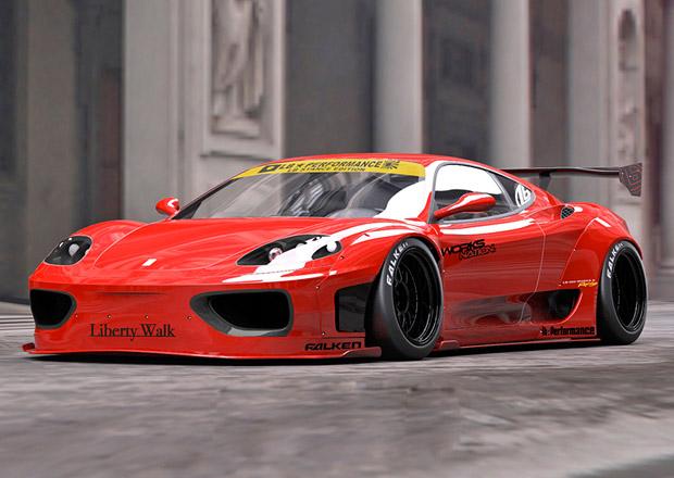 Ferrari 360 Modena stále umí přitáhnout pozornost
