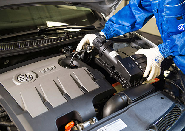 Jak jdou opravy aut z Dieselgate? VW má za sebou zlomek