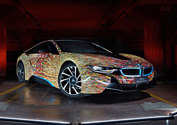 BMW i8 Futurism Edition: Umění přenesené na karoserii (+video)