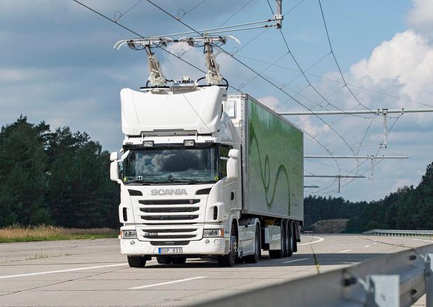Scania: První elektrifikovaná cesta před spuštěním (+video)
