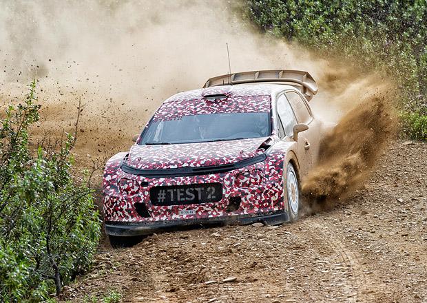 Citroën C3 WRC a jeho testování v Portugalsku (nové foto a video)