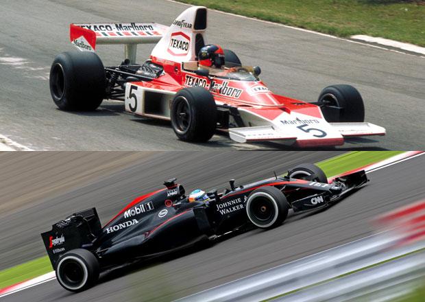 McLaren slaví 50 let v F1, představujeme 5 legend z Wokingu