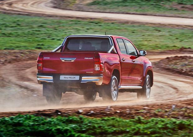 Nová Toyota Hilux vstupuje na český trh, nabízí jediný motor