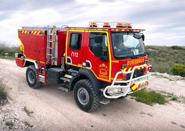 Renault Trucks a hasičská vozidla pro Madrid