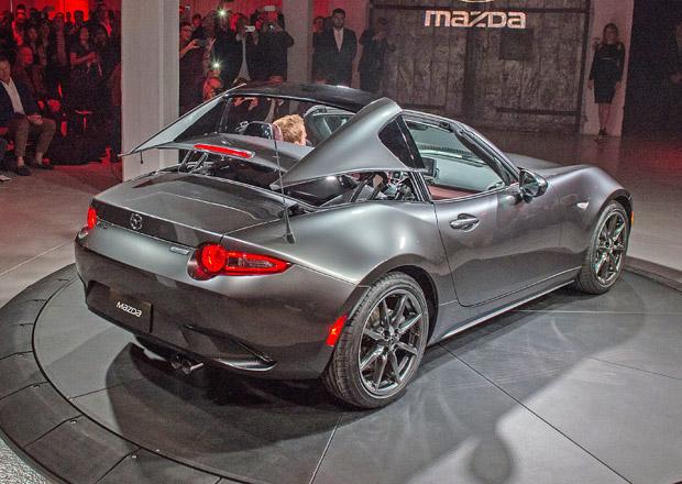 Mazda MX-5 RF: Evropský debut bude v Goodwoodu
