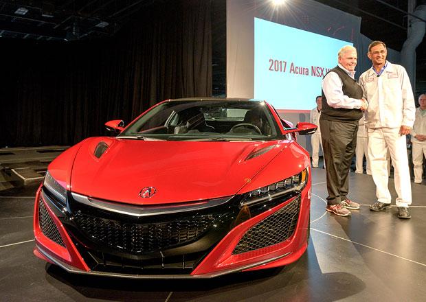 Honda NSX: Sériová výroba nového supersportu zahájena