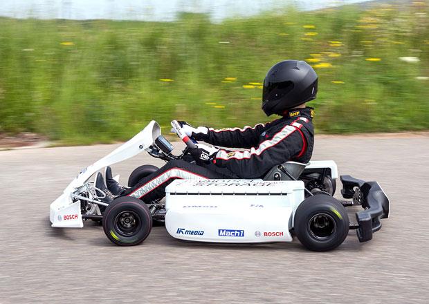 Elektrická motokára... Podle Bosche ideální start kariéry v motorsportu!