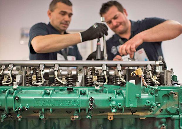 Volvo Trucks: Mezinárodní finále soutěže nejlepších mechaniků se blíží