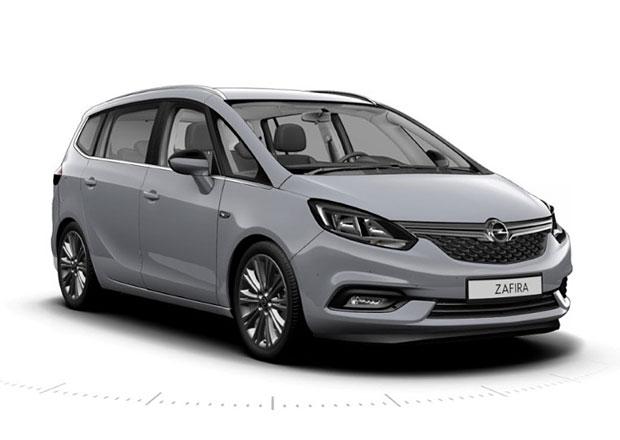 Opel Zafira: Modernizované MPV s novou přídí
