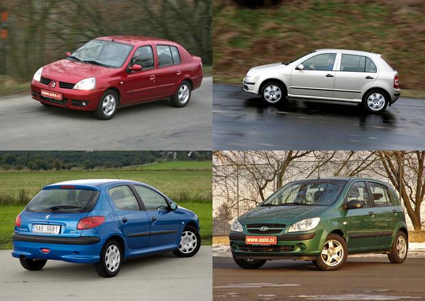 Pohled do minulosti: Jakým modelům a značkám se na českém trhu dařilo před 10 lety?