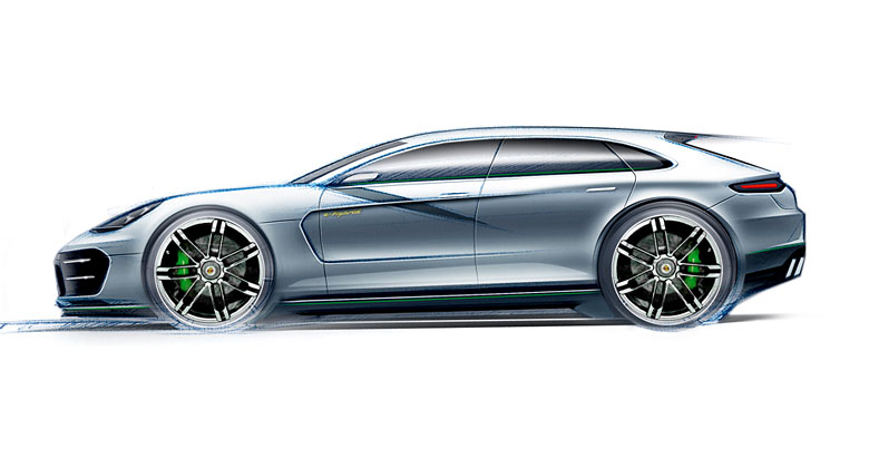 Porsche Panamera: Detailn� informace o druh� generaci je�t� p�ed premi�rou