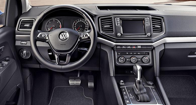 Modernizovan� Volkswagen Amarok uk�zal interi�r. Zn�me i z�kladn� cenu