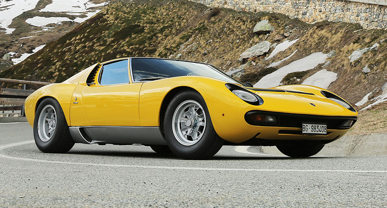 Lamborghini p�ipomn�lo sc�nu z filmu Italian Job