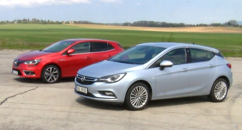 Video: Renault M�gane vs. Opel Astra. Jak jezd�? A co vnit�n� prostor?