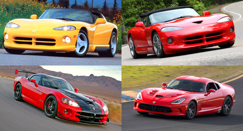Dodge Viper: Supergalerie v�ech generac� zmije