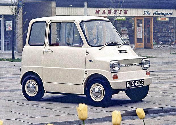 Ford Comuta: Elektrické mikro z roku 1967