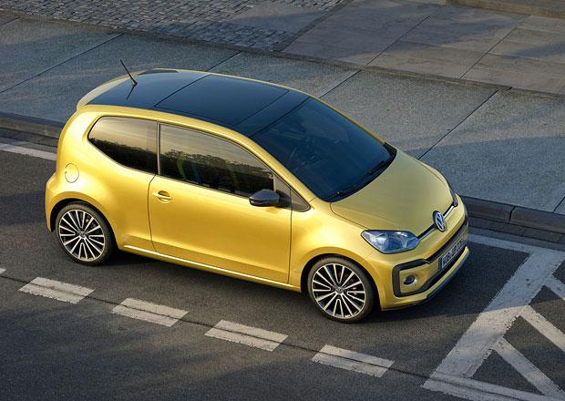 Volkswagen začal v Bratislavě vyrábět modernizovaný model up!