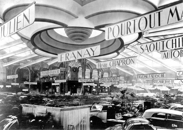 Historie pařížského autosalonu