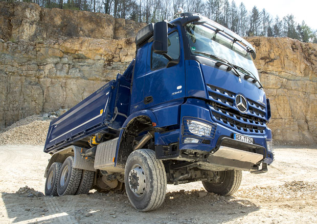Stavební vozidla: Mercedes-Benz
