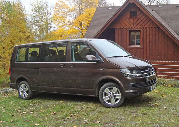 Volkswagen Transporter T6 Kombi 2.0 TDI: Osm pohodlných